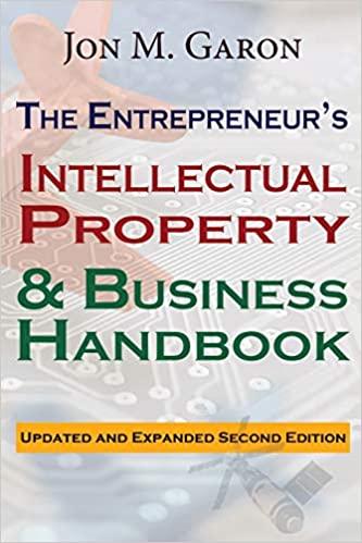 Jon M. Garon, The Entrepreneur's Intellectual Property & Business Handbook 2nd Edition